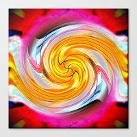 Crazy Carl's Swirl 1 Canvas Print