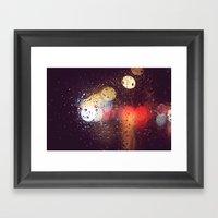 Rainwalk Framed Art Print