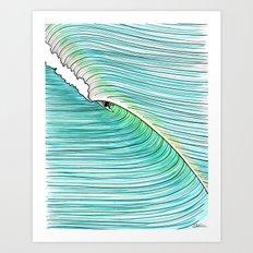 The Green Room Art Print