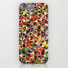 Star Cubes Geometric Art Print. Slim Case iPhone 6s