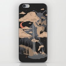 At the Foot of Fox Mountain... iPhone & iPod Skin