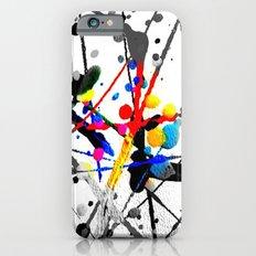 paint splatter 1 Slim Case iPhone 6s