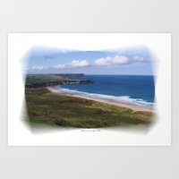 Nothern Ireland  Art Print