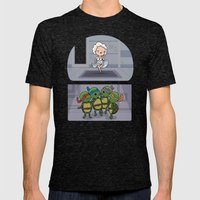 Teenage Mutant Ninja Per… Mens Fitted Tee Tri-Black SMALL