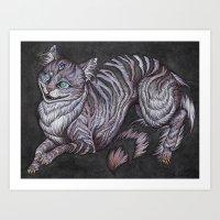 The Cheshire Cat Art Pri… Art Print