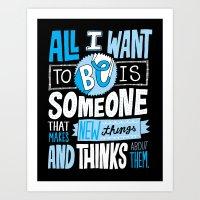 Making And Thinking Art Print