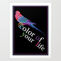Color  Of Your Life Art Print
