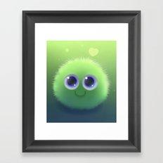 Fluffy Chu Framed Art Print