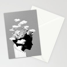 It's a cloudy day Stationery Cards