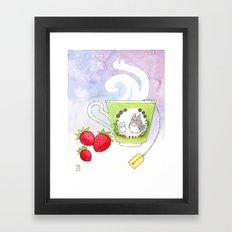 Totaro Cup Framed Art Print