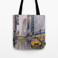 Hey Taxi - New York City… Tote Bag