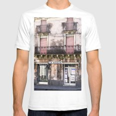 SICILIAN FACADE - Italy Mens Fitted Tee White SMALL