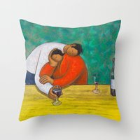 Sweet Merlot Throw Pillow
