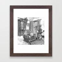 Home Sweet Framed Art Print