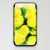 Yellow Flowers II iPhone & iPod Skin