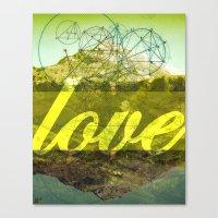 LOVE (1 Corinthians 13:13) Canvas Print