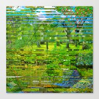 Landscape Of My Heart (4… Canvas Print