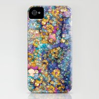 iPhone 4s & iPhone 4 Cases featuring Magic Glitter by Joke Vermeer