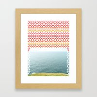 AZTEC 'Beyond The Sea' 1-1 Framed Art Print