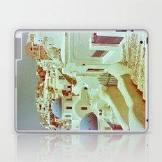Santorini in Raspberry and Blue II: shot using Revolog 600nm special effects film Laptop & iPad Skin
