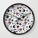 Day of the dead No.2 Wall Clock