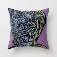 Windower Purple Throw Pillow