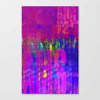 Acid City  Canvas Print
