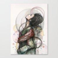 Beauty Illustration Canvas Print