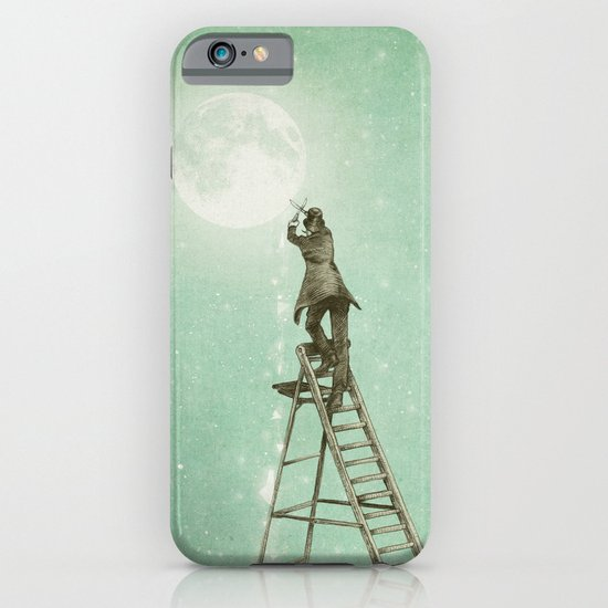 Waning Moon iPhone & iPod Case
