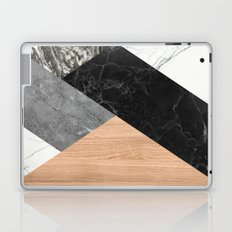 Marble and Wood Abstract Laptop & iPad Skin