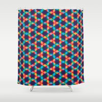 BP 78 Star Hexagon Shower Curtain