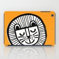 HAPPY LION iPad Case