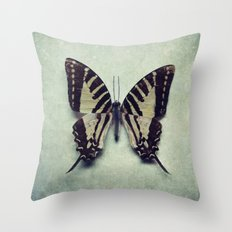 Vintage Butterfly 5 Throw Pillow
