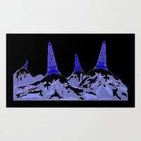 Mountain Top Ice Cream Art Print