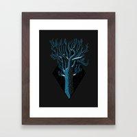 In Winter Framed Art Print