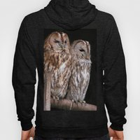Tawny Owls in Nature Hoody