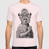 Lithography 2 Mens Fitted Tee Light Pink SMALL