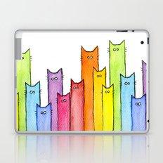 Rainbow of Cats Laptop & iPad Skin