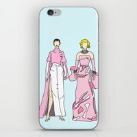 Pretty in PINK it like Audrey and Marilyn iPhone & iPod Skin