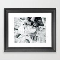 A Tisket A Tasket II BW Framed Art Print