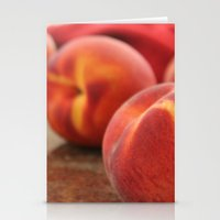 Peaches for Days Stationery Cards
