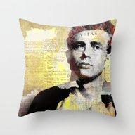 James D. Throw Pillow
