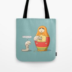 You took your time Tote Bag