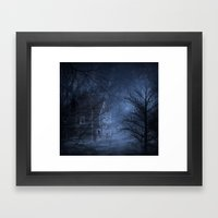 Haunted Place Framed Art Print