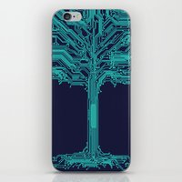 Trunklines iPhone & iPod Skin