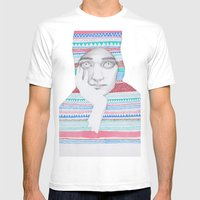 A Traveler 02 Mens Fitted Tee White SMALL