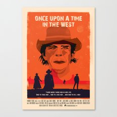 Once Upon A Time In The West Poster: Harmonica Canvas Print