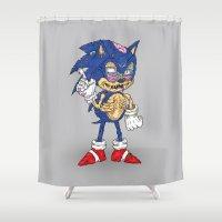 Zonic Shower Curtain