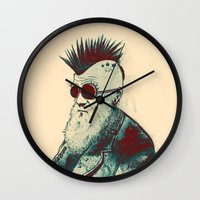 Evolution Of Charles Wall Clock
