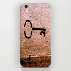 Follow Me Down iPhone & iPod Skin